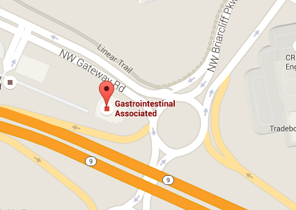 Gastrointestinal Associates location map